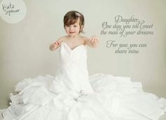 Kylies One year old pictures using my wedding dress #katespencerphotography
