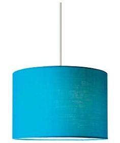 ColourMatch Fabric Light Shade - Lagoon.
