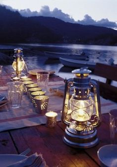 Would make a great night for staying up until the stars came out, sharing stories and lots of good wine