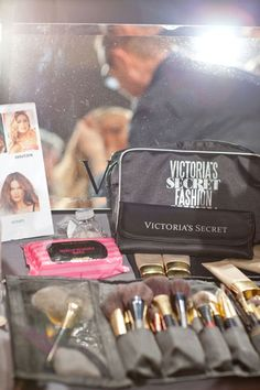 Victoria's Secret Fashion Show: Behind the Scenes - Tom Pecheaux and team used all VS makeup.