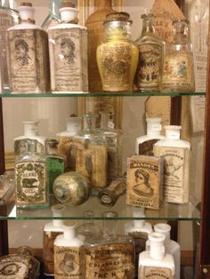 Antique Bottle group