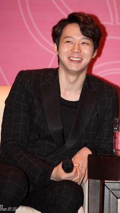 Charming Park Yoochun (Chun BB) at Beijing FM Conference ❤️ JYJ Hearts