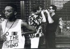 """Spike Lee, Danny Aiello, and John Tuturro: """"Do the Right Thing"""""""