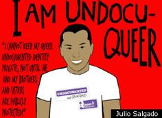 Jorge brings together the LGBTQ and immigrant-rights movements.