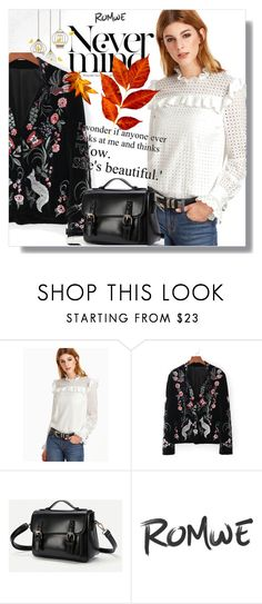 """""""//Romwe, 9/10."""" by sajra-de ❤ liked on Polyvore featuring Beautiful People"""