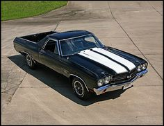1970 Chevrolet El Camino SS 454 with the LS6 motor