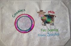 Hey, I found this really awesome Etsy listing at https://www.etsy.com/listing/59957401/cookies-for-santa-embroidered-and