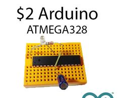 In this instructable you will learn how to use the Arduino ATMEGA328 microcontroller chip as a stand-alone microcontroller. They cost only 2 bucks, can do the same as your Arduino and make your projects extremely small.We will cover the pin layout, how to make it ready for the Arduino software by burning a bootloader and how to upload sketches.Watch the rest of this instructable to find out how you can make your Arduino projects smaller and cheaper in no time.
