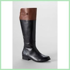 Daily Recommend - Womens Blakeley Tall Riding Boots - Black/Earthen Brown