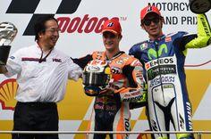 Pedrosa, Rossi, Malaysian MotoGP Race 2015