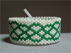 Celtic Knot Border Tea Light Cover | Bead-Patterns