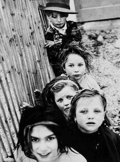 //...Mario Giacomelli...// The Little Gypsy Boy in Zingari Series Senigallia, Italy, 1958.