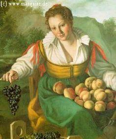 Fruit Seller, Vincenzo Campi. c. 1580