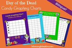 Day of the Dead Candy Graphing Charts {PRINTABLE}