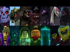 Defeats of all the Lego Ninjago Villains