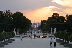Tuileries Gardens - can't think of a better place to get engaged :)