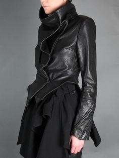 edge-to-edge: ANN DEMEULEMEESTER JACKET - Beautiful!!!!