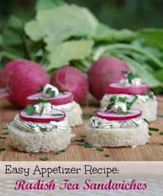 Love radishes but not sure what to do with them? This radish recipe makes a delicious appetizer!