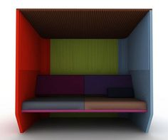 2011 Colorful Privacy Shelter by Alain Gilles