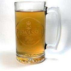 GTA Inspired Pißwasser Mug. Everyone's favorite cheap German lager. Made with the fresh urine of Bavarian virgins. Or not.
