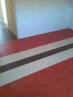 Slaapkamer Forbo Marmoleum in 3 kleuren!