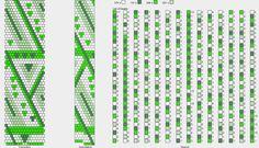 wzór dla miłośniczek zielonego