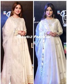 Sajal Ali Pictures from LSA 18 will give you Goosebumps! Pakistani Formal Dresses, Pakistani Party Wear, Pakistani Wedding Outfits, Pakistani Couture, Pakistani Dress Design, Indian Dresses, Indian Outfits, Indian Wedding Gowns, Wedding Dresses