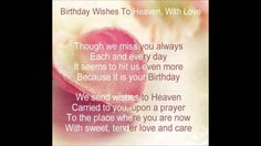 ♫ Dedicated to my beautiful mom on her birthday In Heaven. ~ Forever missed~Never Forgotten. ♫