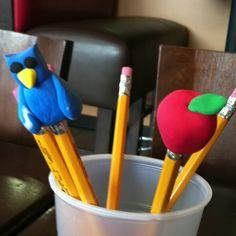 Back to school craft using Crayola model magic!