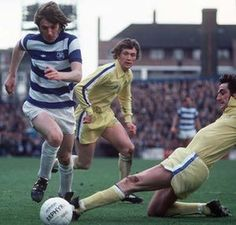 Stan Bowles eludes Leeds' Norman Hunter and Trevor Cherry Football Icon, Retro Football, Vintage Football, Norman Hunter, Leeds United, Football Pictures, The Guardian, The Unit, Hero