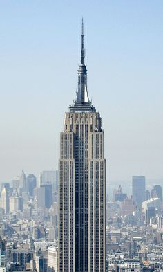 Empire State Building, at the top, is where my husband proposed to me in november 2010.