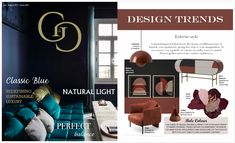 AYTM's Flores rug featured in G&G, Jan 2020. Natural Light, Design Trends, Blogging, This Is Us, Rug, Brown, Classic, Blog, Blanket