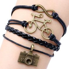 LightOnIt Womens Boho Wrap Leather Multilayer Wide Tree of Life Bracelets Jewelry for Women Teen Girl Gift – Fine Jewelry & Collectibles Cute Bracelets, Ankle Bracelets, Handmade Bracelets, Bracelets For Men, Fashion Bracelets, Beaded Bracelets, Stylish Jewelry, Cute Jewelry, Jewelry Accessories
