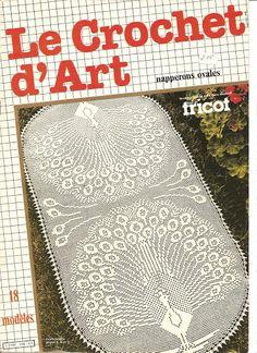L_2796 Le Crochet d'art Special Hors Serie - sevar mirova - Álbuns da web do Picasa OVÁLNÉ DEČKY