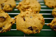 My mom makes these and they are AMAZING!! pumpkin chocolate chip cookie recipe