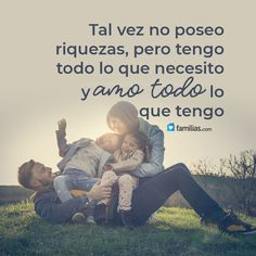 Yo amo a mi familia www.familias.com #amoamifamilia #matrimonio #sermamá #bebé #hermanos #hijos #amor #familia #frasesdeamor #frases #frasesbonitas #frasesdefamilia
