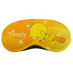 New TWEETY BIRD Custom Sleeping Mask by Sahabatku on Etsy, $7.99
