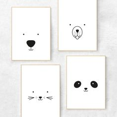 Black and white nursery prints drawing bear Bear print - Bear nursery print - Bear nursery decor - Bear nursery art - Minimalist nursery art - Scandi nursery - Scandinavian nursery Nursery Prints, Nursery Wall Art, Nursery Decor, Nursery Drawings, Room Decor, Art Drawings, Happy Birthday Animals, Animal Birthday, Happy Animals