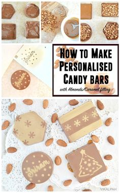 Vikalpah: How to make personalised candy bars with Almonds & Caramel filling