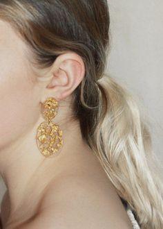 www.gildjewellery.com #goldleaf#resinjewellery#handmade