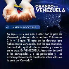 Orando por Venezuela día 4