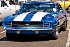 I Love This 1969 Camero RS .