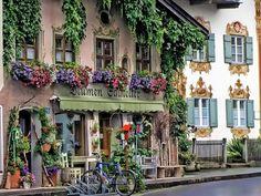 Oberammergau Germany – a wonderful town in the Alps near Munich