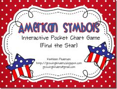 American Symbols from Growing Kinders (free printable)