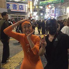 東京ときめきチャンネルfeat.コハロン kohalon in shibuya #面長 #全身タイツ #長身 #渋谷 #ハチ公 #shibuya #東京ときめきch
