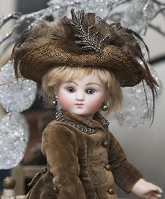 """10"""" (25 cm.) Rare Antique Tiny Earliest Period French Bisque Bebe by from respectfulbear on Ruby Lane"""