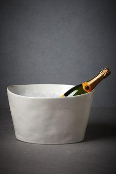 organic oval ice bucket
