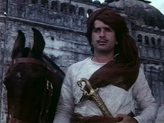 Shashi Kapoor as the obsessed Pathan in Junoon, one of his best performances ever.