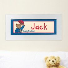Personalised Paddington Bear Name Frame Christmas Stocking Fillers, Christmas Gifts, Name Frame, Paddington Bear, Cute Bears, Christmas Morning, Kids Bedroom, Personalized Gifts