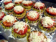Pizza Quinoa Polenta
